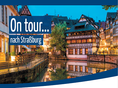 On tour…nach Straßburg