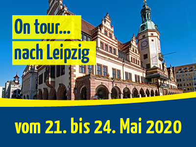 On tour… nach Leipzig