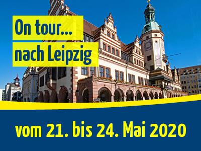 On tour… nach Leipzig